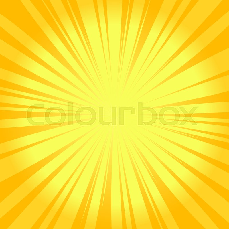 513b6b2a09639 Summer sunburst background. Glowing ... | Stock vector | Colourbox