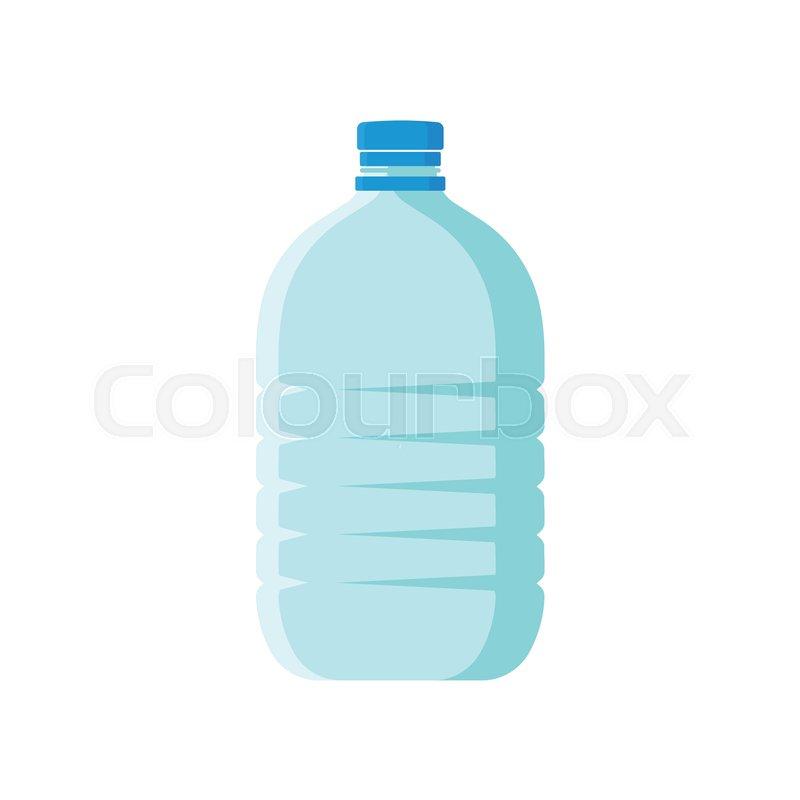 Cartoon Icon Of Large Plastic Bottle Stock Vector Colourbox