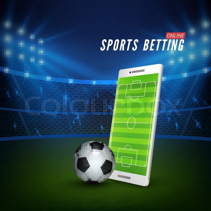 Sports betting online web banner ...   Stock vector   Colourbox