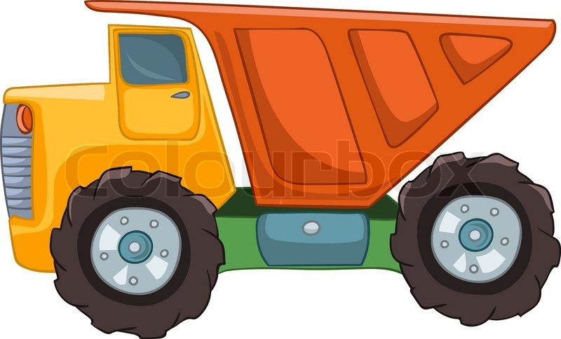 cartoon truck isolated on white background stock vector Birthday Clip Art in Motion Animated Clip Art for Teachers