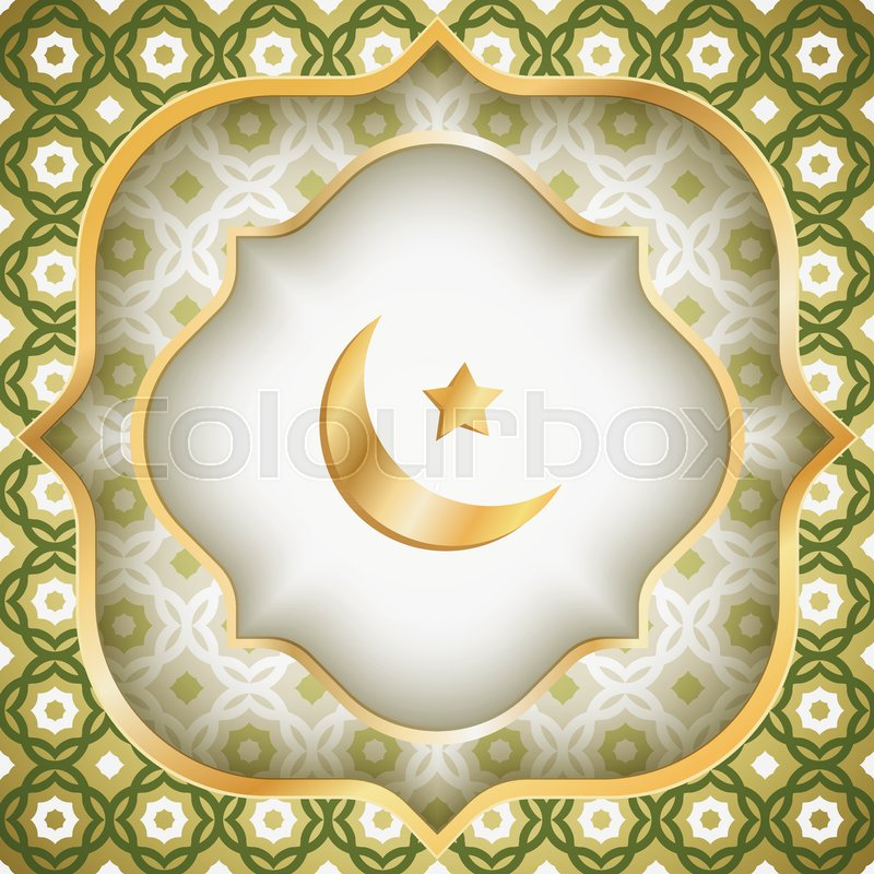 Vector greeting card for ramadan or eid al fitr vector poster for vector greeting card for ramadan or eid al fitr vector poster for eid al fitr with arabic geometric patter and golden banners stock vector colourbox m4hsunfo