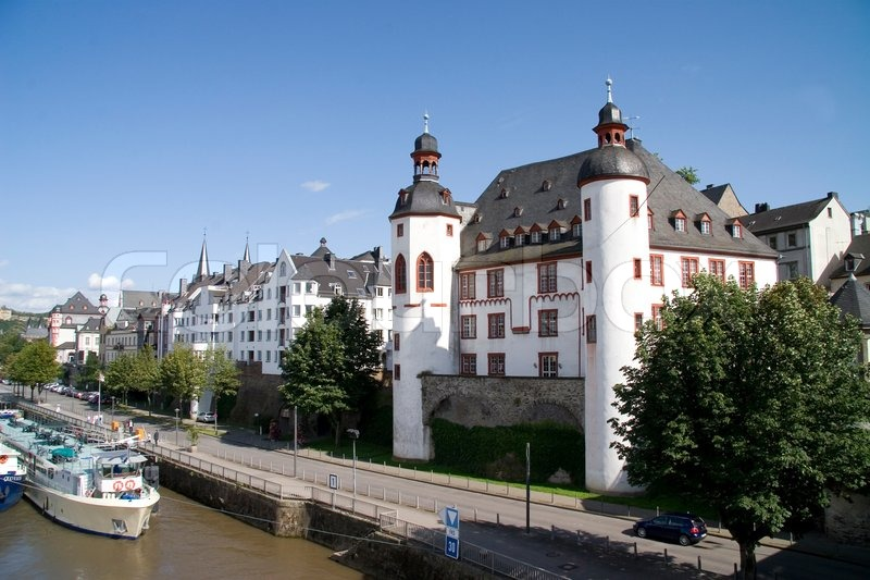 city koblenz in germany