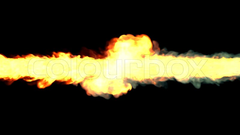 Stock image of 'Magic fire tornado and whirlwind'