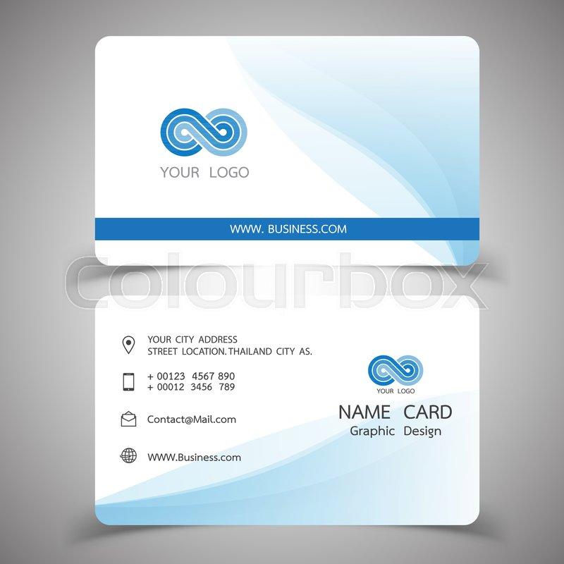 Business card design set modern creative business card template business card design set modern creative business card template vector illustrations stock vector colourbox reheart Images