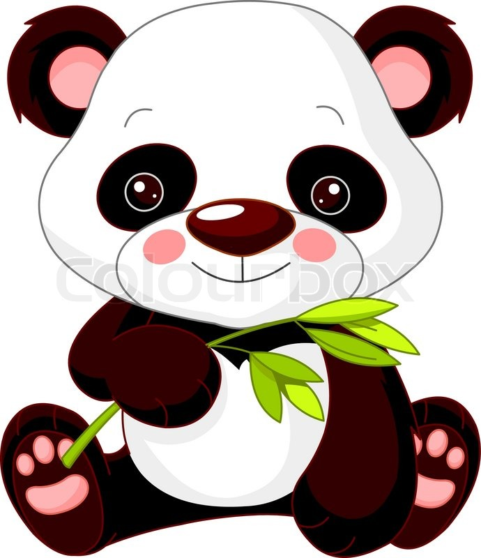 Illustration Of Cute Panda