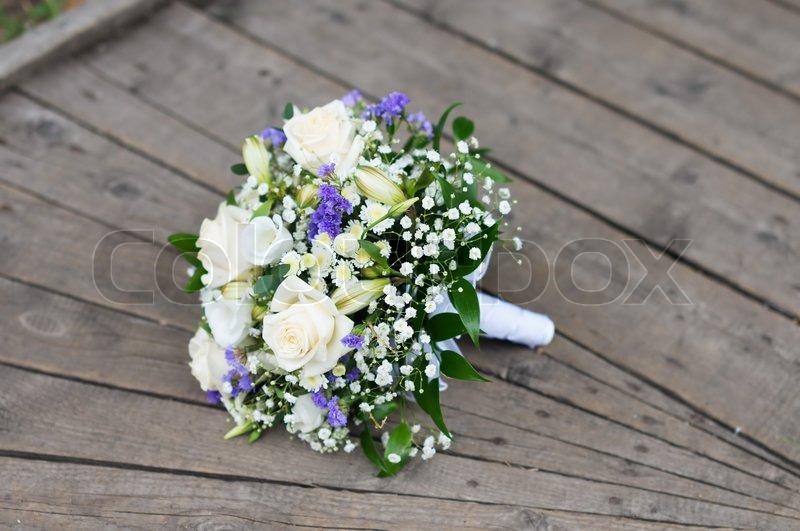 Schone Hochzeit Blumen Blumenstrauss Stockfoto Colourbox