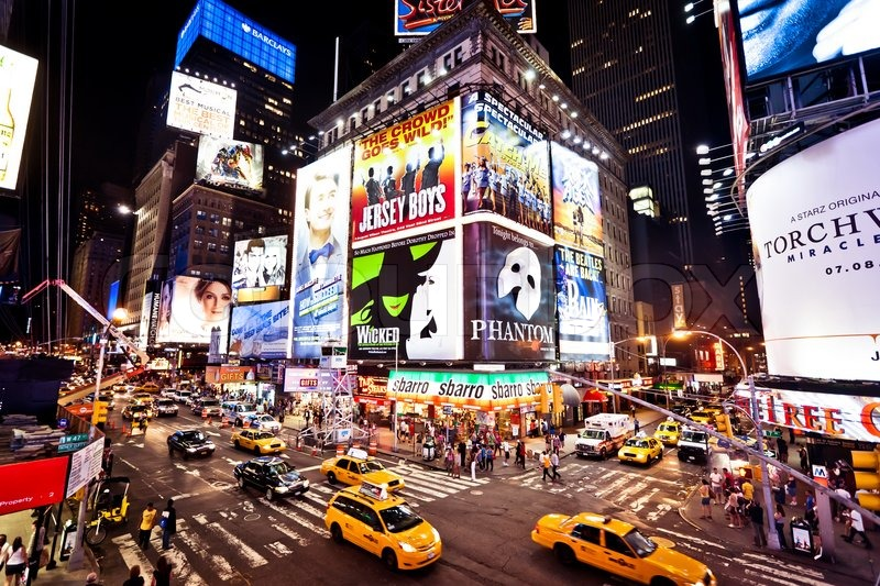 new york city 1 juli times square mit theatern am. Black Bedroom Furniture Sets. Home Design Ideas