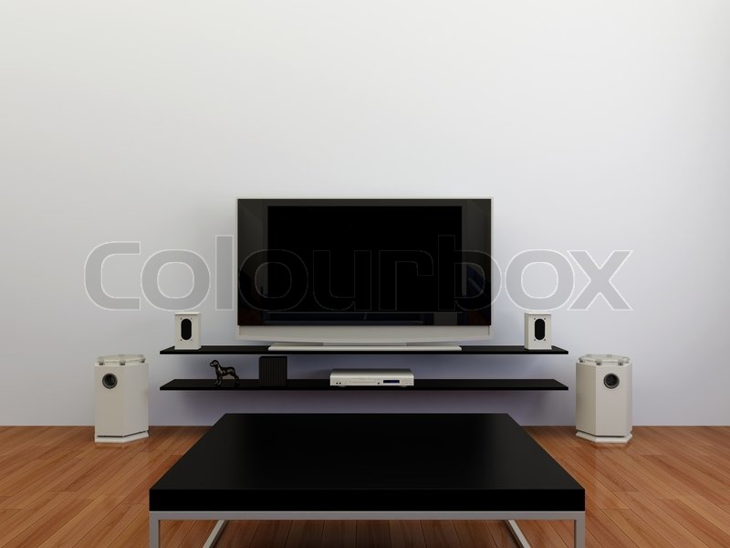 Audio, stereo, television, monitor, plasma, tv, lcd, video, room ...