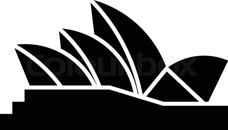 800px COLOURBOX33763157 - Get Vector Images Of Sydney Opera House  Pictures