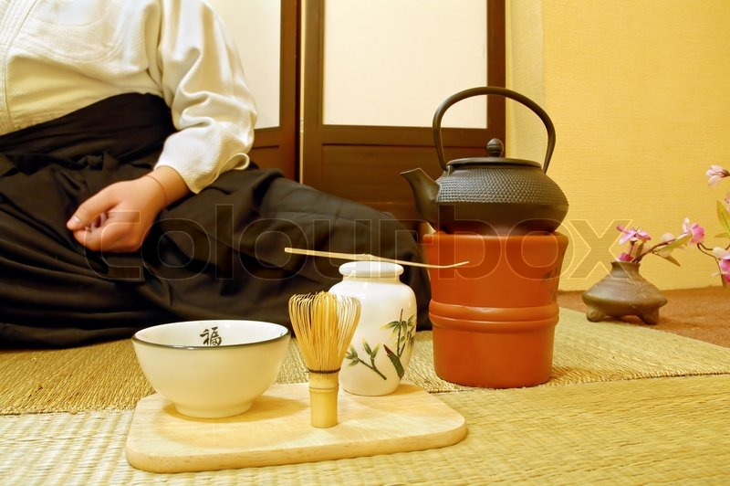 Tools Used For Japanese Tea Ceremony Chado A Brush Made Of