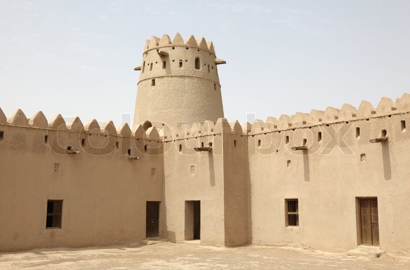 Ancient fort of al ain emirate abu dhabi united arab for Al manzool decoration abu dhabi
