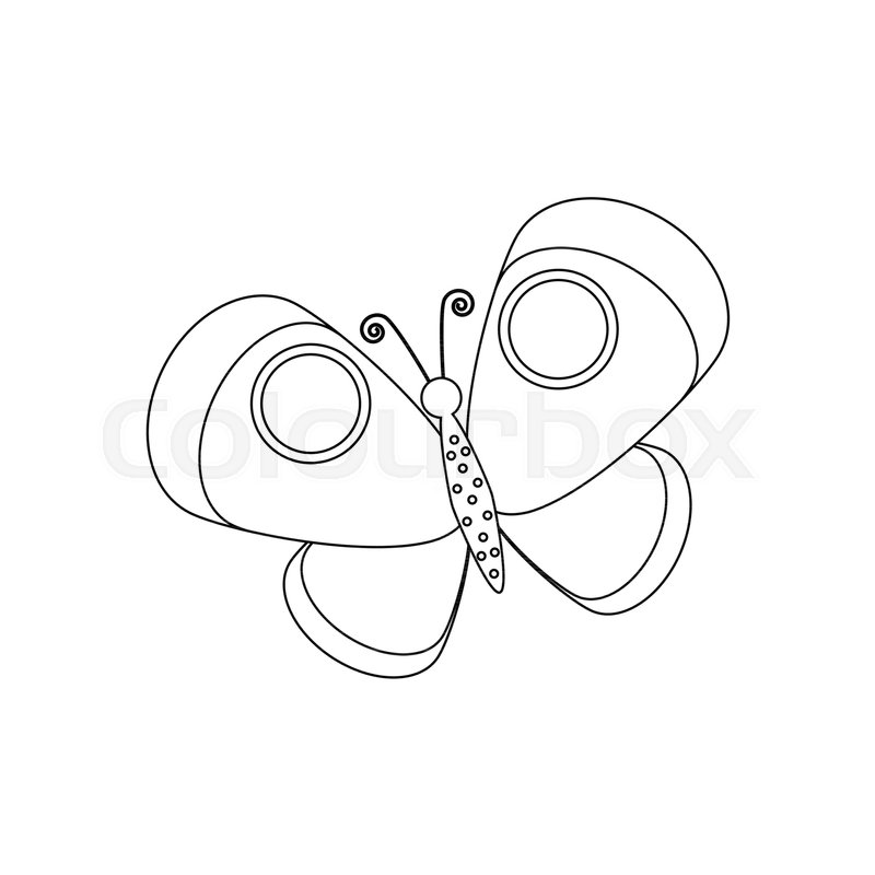 Flowers and Butterfly Coloring Pages - Print Color Craft | 800x800