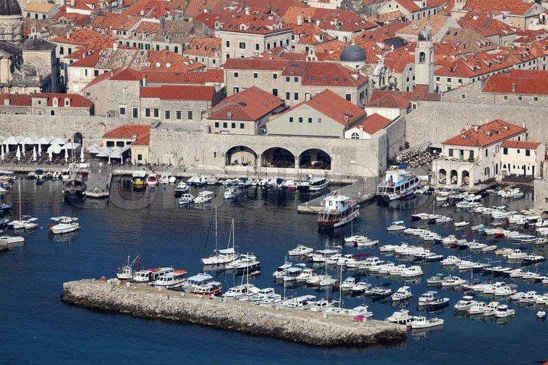 Город порт в хорватии