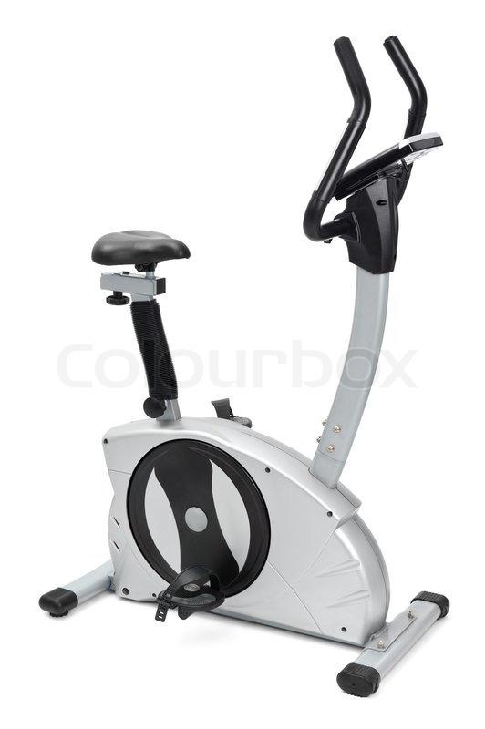 Gym Equipment Spinning Machine For Stock Photo