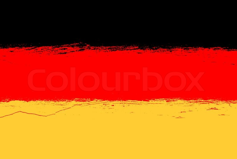 Germany flag grunge background with ... | Stock Photo ...