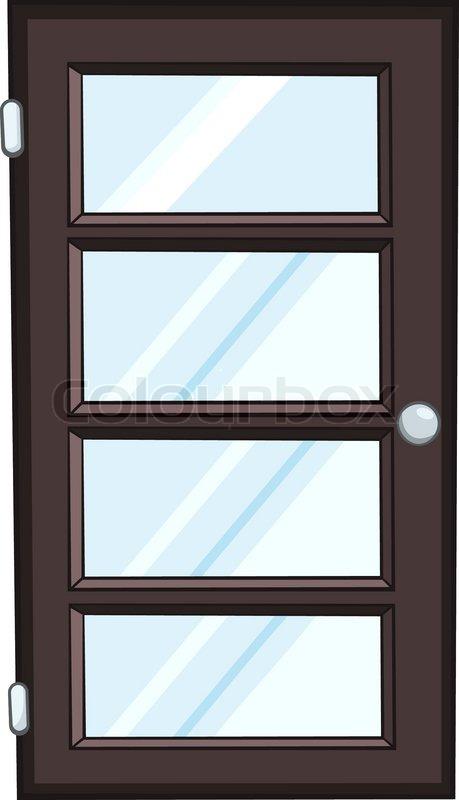 Cartoon Home Door Isolated on White Background | Stock Vector | Colourbox & Cartoon Home Door Isolated on White Background | Stock Vector ... pezcame.com