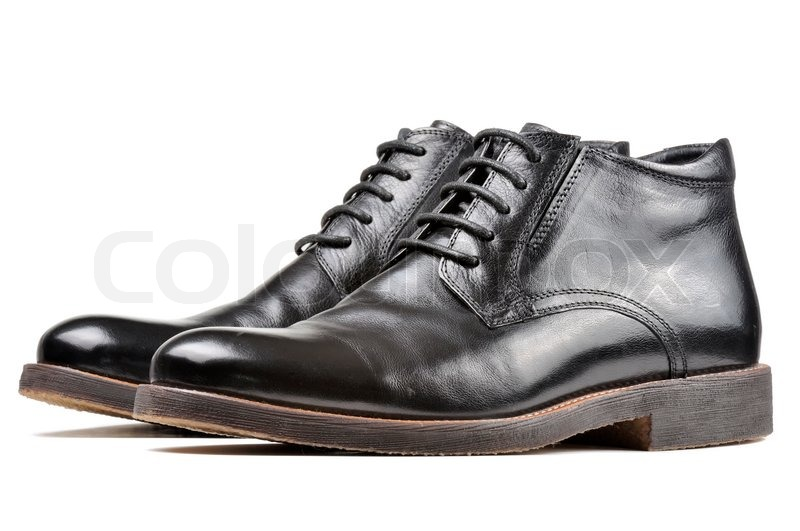 98b46801888a7d Men s Classic Black Leather Shoes ...
