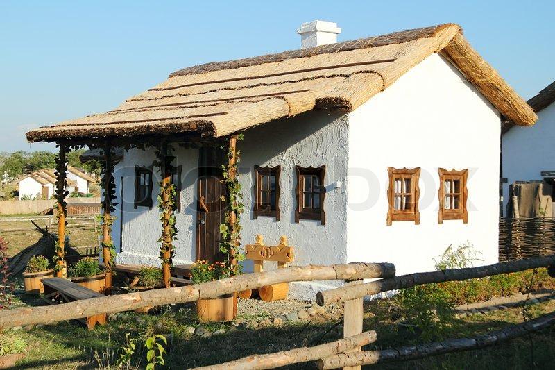 Typical Village House In Historical Museum Ataman Taman