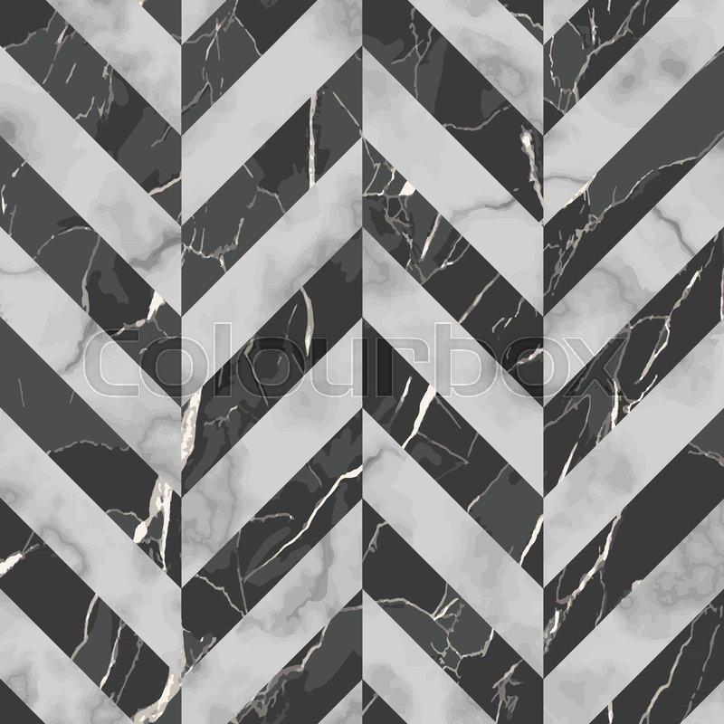 Vector Gray And Black Herringbone Stock Vector