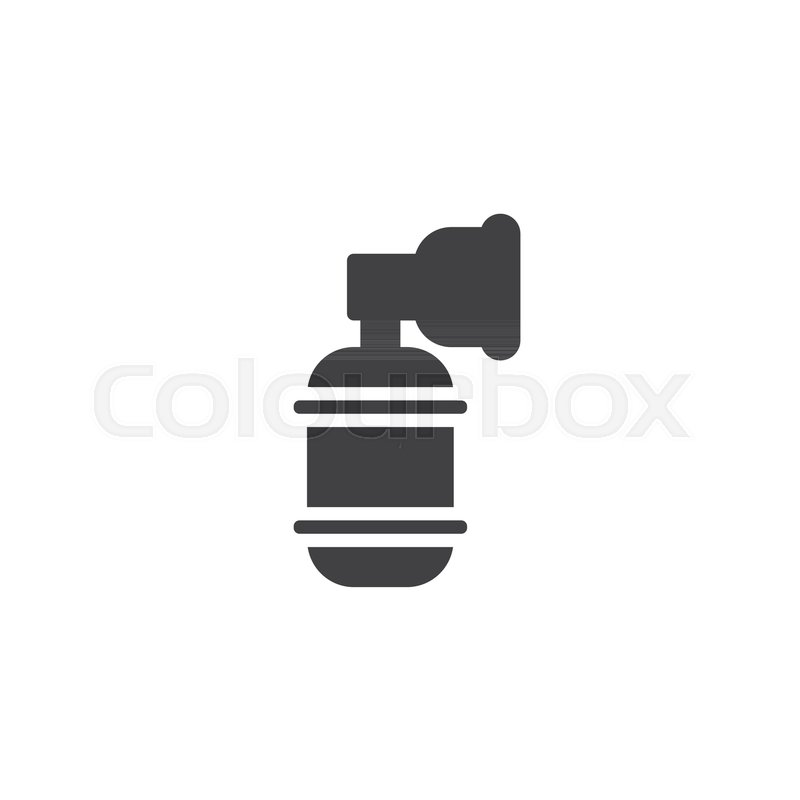 Oxygen Tank Vector Icon Filled Flat Sign For Mobile Concept And Web