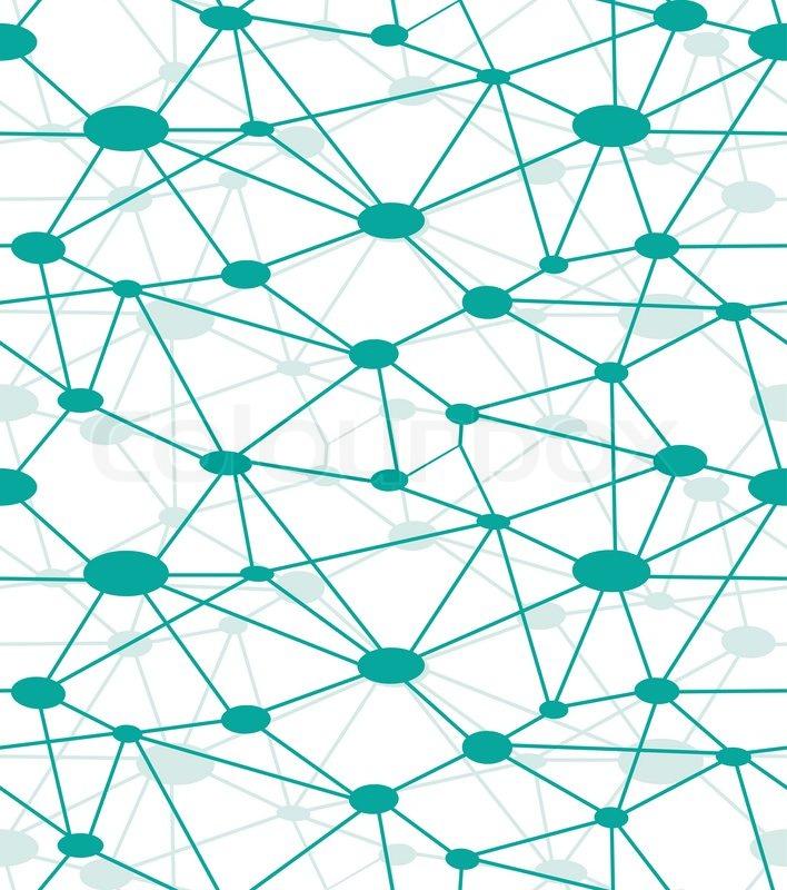 Neuron Net  Vector Icon Web  Diagram Net  Network System