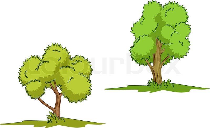 Green Trees With Grass Isolated On Stock Vector Colourbox Jeden tag werden tausende neue, hochwertige bilder hinzugefügt. green trees with grass isolated on