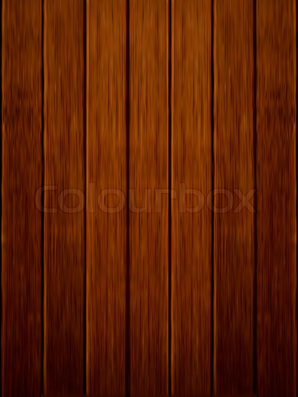 Dark Wood Background Vector Stock Vector Colourbox