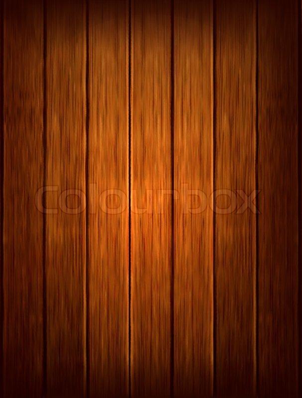 Dark wood background. Vector illustration   Stock Vector ...