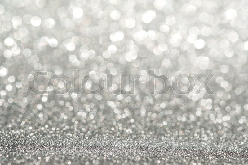Abstract light silver sparkling glitter wall Abstract light silver sparkling glitter wall and floor perspective background studio with blur bokeh.luxury holiday ..., stock photo