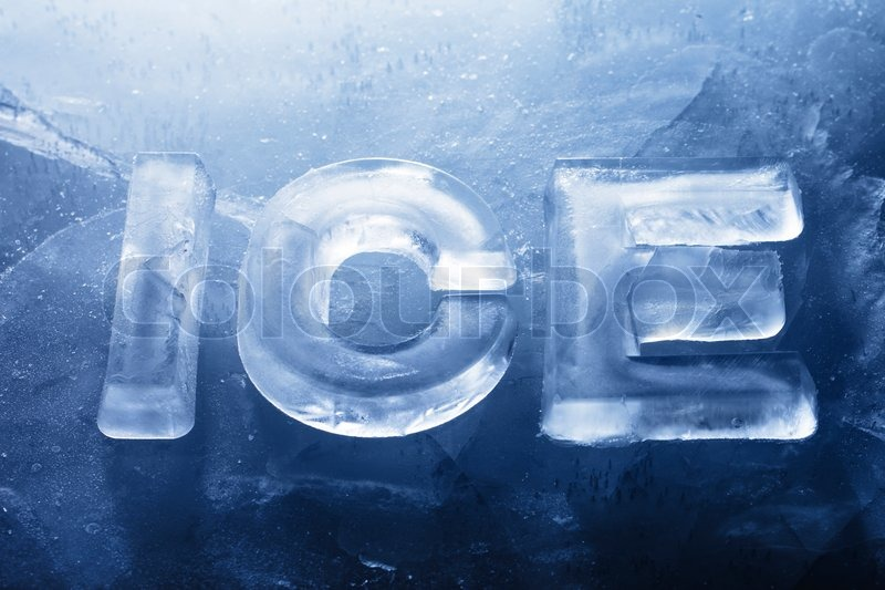 Ice Writing Letters