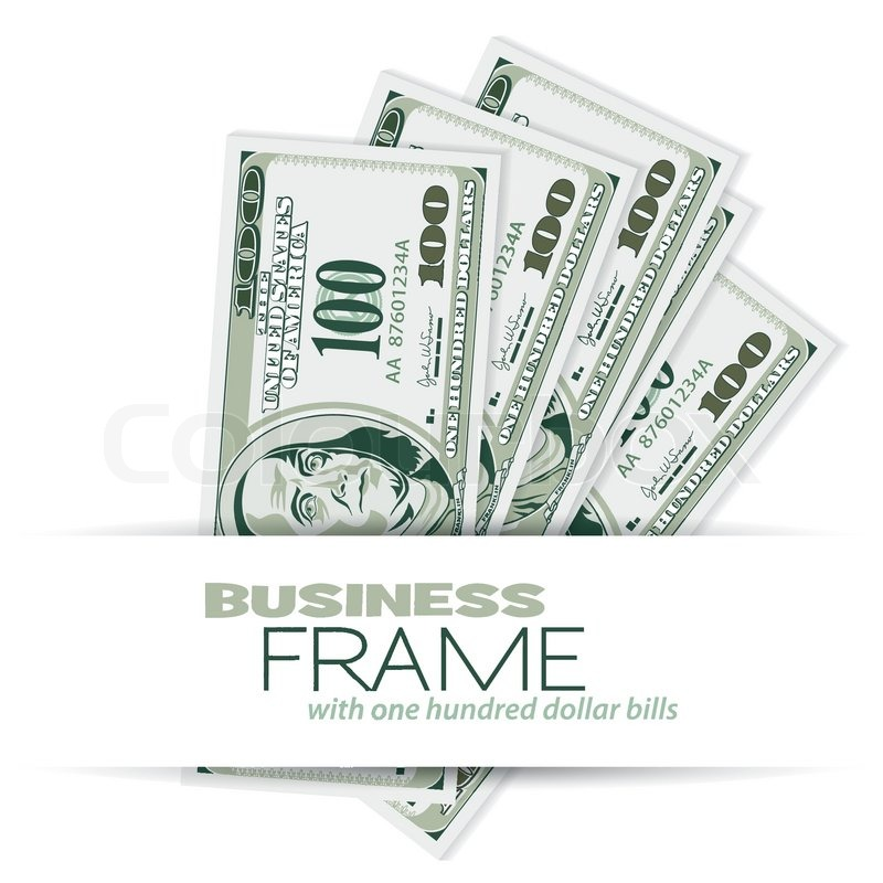 Contemporary Dollar Bill Picture Frame Frieze - Custom Picture Frame ...