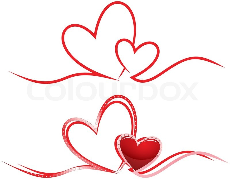 Intertwined Hearts Two Hearts Intertwined...