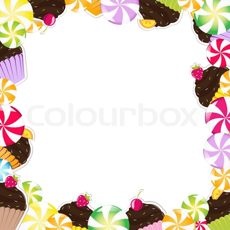 3425511 birthday frame with cupcake vector illustration birthday cake downloads 5 on birthday cake downloads