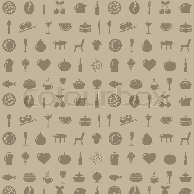 Restaurant Background Vector Stock Vector Colourbox