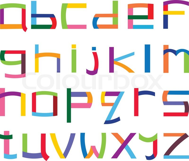 Lower Case Alphabet Clip Art