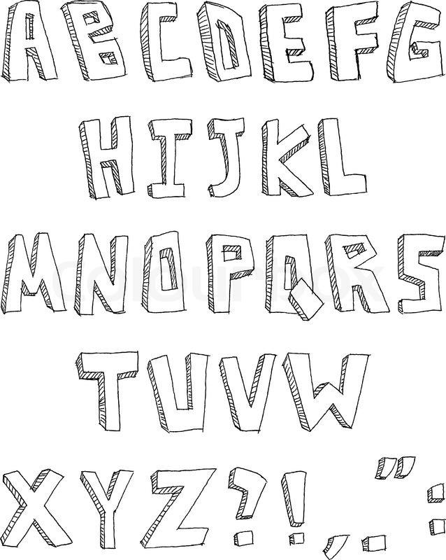 fransk alfabet