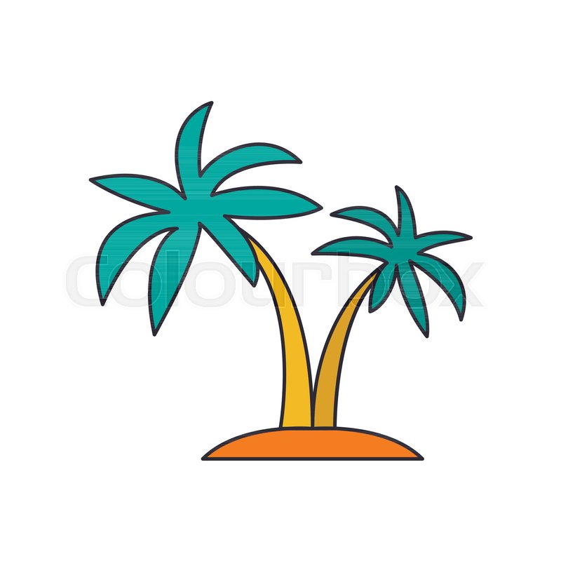 Palm Tree Icon Cartoon Palm Tree Stock Vector Colourbox 103+ tree icon images for your graphic design, presentations, web design and other projects. palm tree icon cartoon palm tree