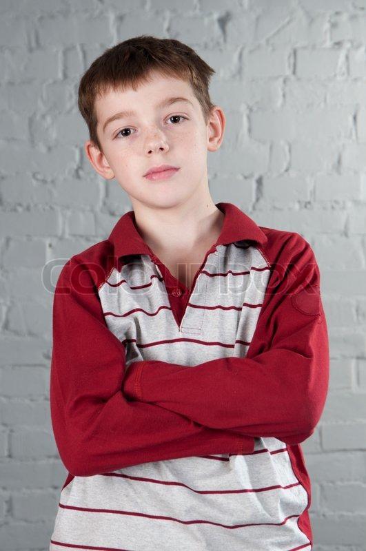 Portrait Of Boy 10 Years