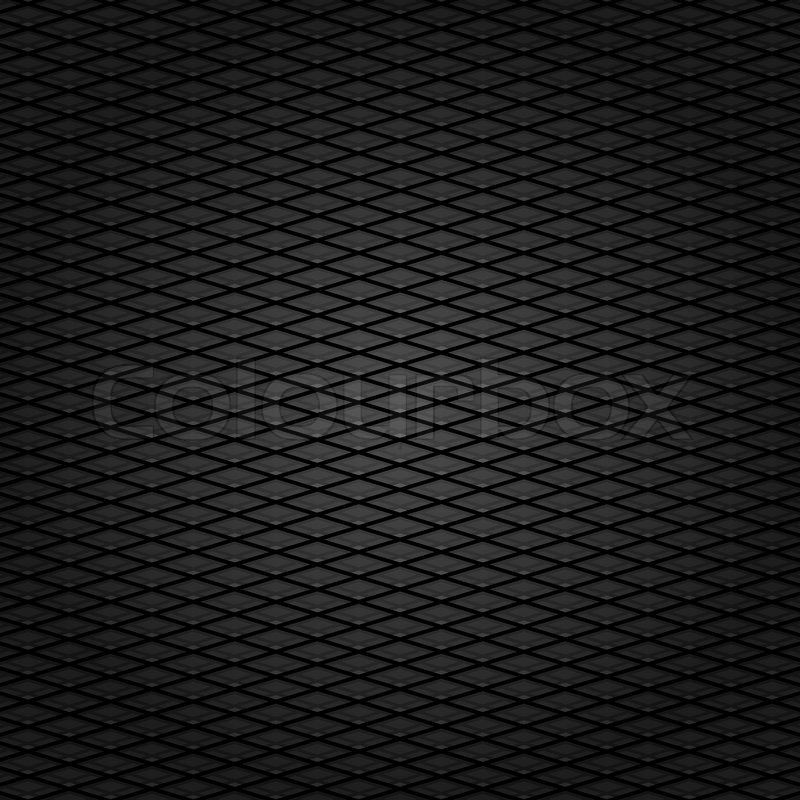Corduroy Background Dark Gray Grid Fabric Texture Vector