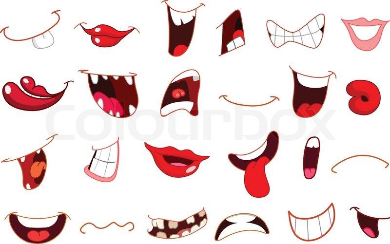 tegninger af munde