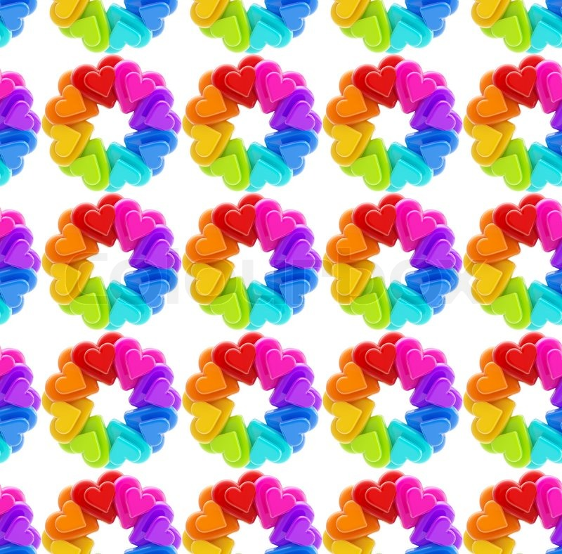 colorful shapes background created - photo #17