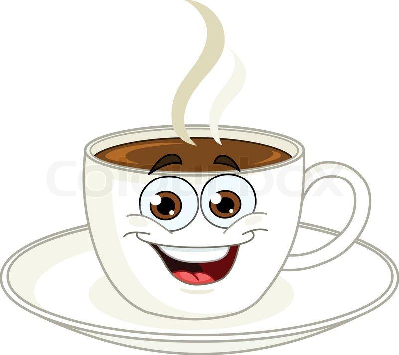 Brown Glass Coffee Cup