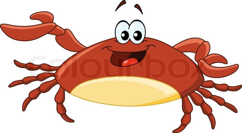 Cartoon crab | Stock Vector | Colourbox