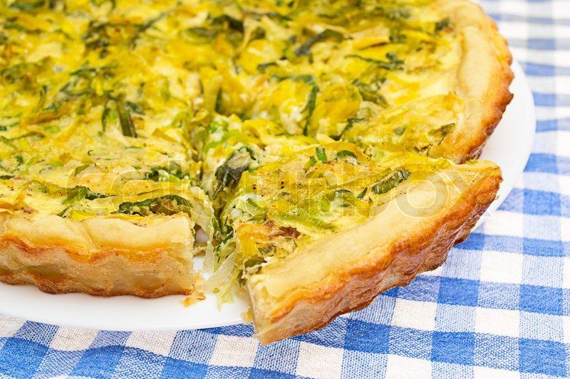 Киш французский пирог рецепт