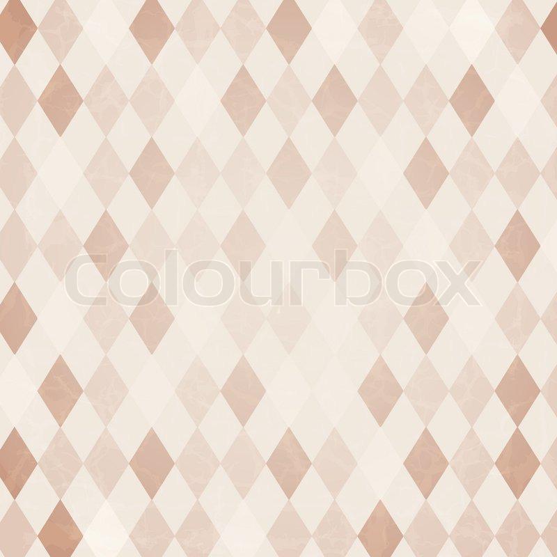 Retro Harlequin Background, Vector     | Stock vector | Colourbox