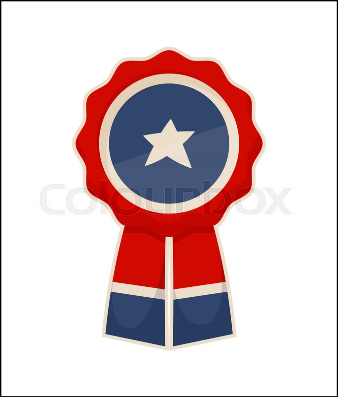 433ab6439bf Sticker icon symbol of USA flag