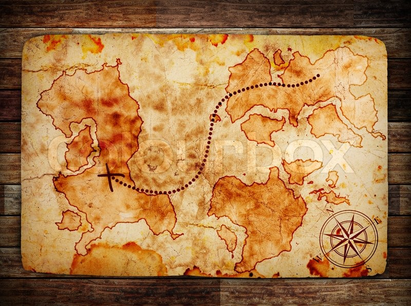 simple treasure maps vintage - photo #6