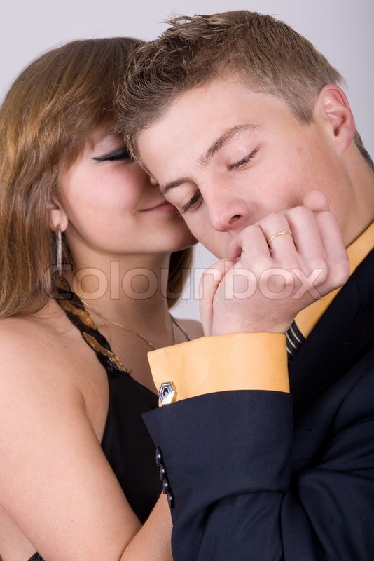Man hand why kiss woman Why Would