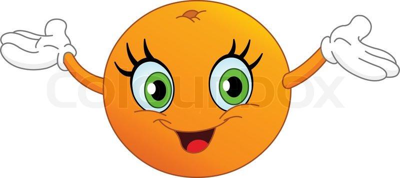 appelsin tegning