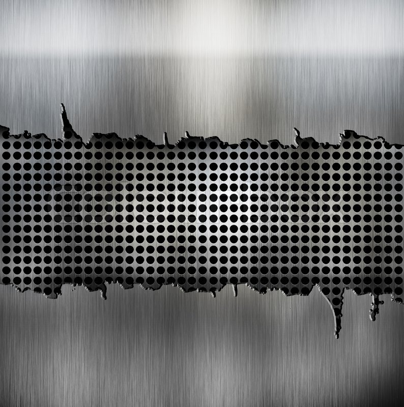 crack metal background template